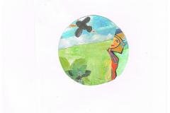 Bagom ikon af Helle Køster