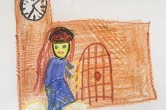 Tegnet af Aliyah. Barnebarn af Hanne og Lars Skytte.